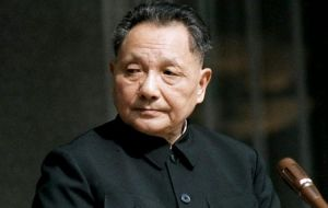 Deng Xiaoping following a historic visit to the US in 1978 changed the focus of China from isolation to world markets
