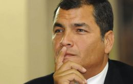 "The combative US trained economist Correa ""gets things done"" and represents political stability"