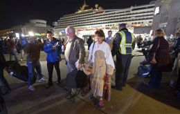 Passengers reported no electricity on board, and few working toilets, during the four days the Carnival Triumph was crippled. (Photo AP)