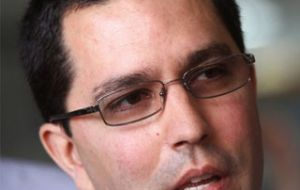 Minister and son in law Arreaza said the president still has difficulties in speaking
