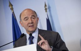 """We all agreed on the fact that we refuse to enter any currency war"" said French Finance Minister Pierre Moscovici"