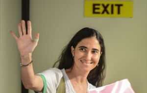 Brazil is the first of twelve countries to be visited by blogger Yoani Sanchez