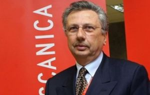 Giuseppe Orsi, former CEO of Finmeccanica which includes AugustaWestland choppers