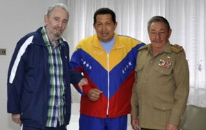Growing exposure of Castro brothers in Venezuelan affairs was becoming irritating