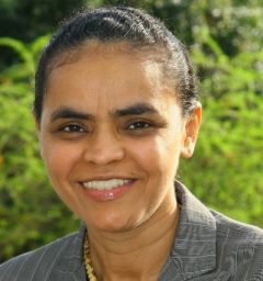 Marina Silva was a presidential candidate in 2010 and won 20 million votes