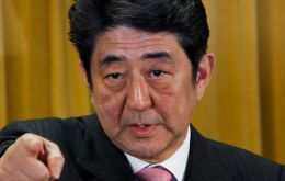 Prime Minister Shinzo Abe faces several challenges
