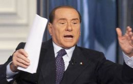 "In an increasingly bitter campaign Berlusconi is attacking ""German-centric"" austerity policies"