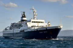 Lyubov Orlova has been spotted drifting towards the Irish coast