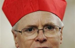 Odilo Scherer, 63, who was ordained by Benedict in 2007 heads the five million strong archdioceses of Sao Paulo