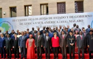 The family picture of the ASA meeting in Equatorial Guinea