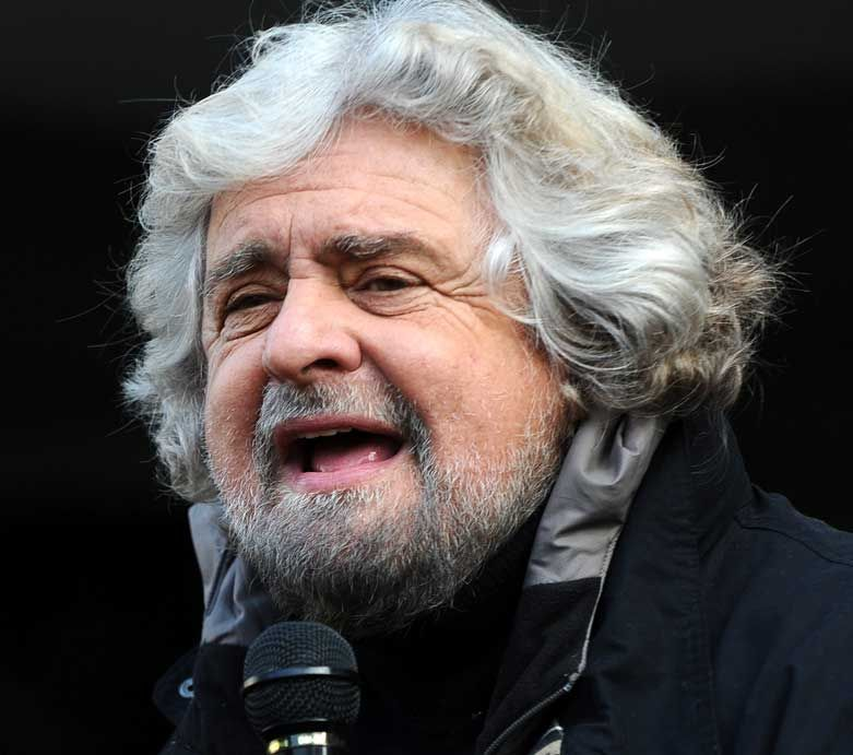 The gladiator of the day, <b>Beppe Grillo</b> and the protest vote - beppe-grillo