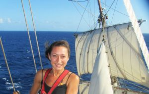 "Larissa Clark: "" No sailing experience is required"""