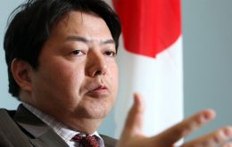 """We don't condemn Koreans for eating dogs or Australians for eating kangaroos"", says Minister Hayashi"