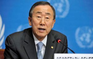 """Eradication of colonialism, in keeping with the principles of the Charter and the relevant UN resolutions, is our common endeavour"" said Ban Ki-moon"