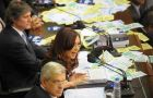 "Cristina Fernandez: ""the world has to choose whether they will let a handful of people ruin everyone"""