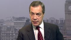 Farage, leader of the UK Independence party and  a member of the European parliament (Pic BBC)
