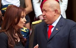 The Argentine president preferred to remember Chavez as the robust leader she knew