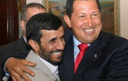 Chavez and Ahmedinejad visited each other and called themselves allies, friends and even brothers.