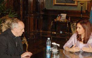 Cristina Fernandez was no fan of Bergoglio because of his mention of poverty and corruption