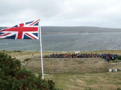 Nothing illegal in the British presence in the Falklands since 1690
