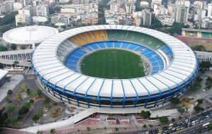 The monumental stadium in the heart of Rio do Janeiro
