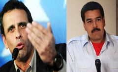 Polls show Capriles trailing acting president Maduro by a wide margin