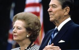 Thatcher's draft letter to President Reagan reveals a refusal to compromise
