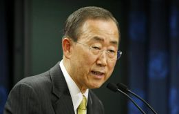 "Ban Ki Moon has said a prevailing impression in the UN is that ""people living under certain conditions should have a certain level of capacities to decide their own future"""