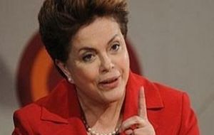 President Dilma Rousseff confirmed attendance