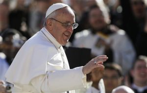 By choosing December the Pope avoids involvement in Argentina's October mid term elections