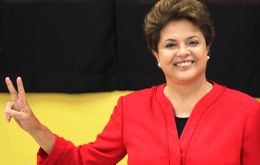 The Brazilian president has an unprecedented support, and is well ahead of Marina Silva and Aecio Neves