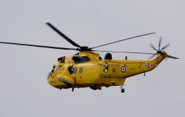 The Sea Kings used for multiple search and rescue operations have saved hundreds of lives