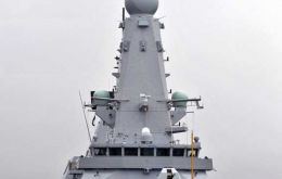 The state of the art 7.500 tons HMS Duncan should be operational by next year