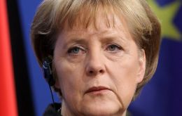 Merkel in track to win a third mandate but could also fall short of a clear majority