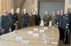 The UK/US Service Chiefs discussed the strategic challenges the UK and US militaries may face in the future
