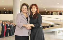 "Dilma Rousseff and Cristina Fernandez are scheduled to hold a meeting to address ""trade differences"""