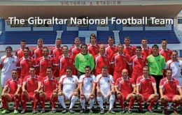 The Gibraltar football has been playing with success in several categories