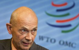 Pascal Lamy steps down next August as WTO Director General