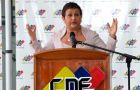 For CNE chief Tibisay Lucena, the electoral system on Sunday 'worked perfectly'