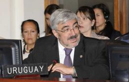 Uruguay's ambassador Romani reiterated Mercosur full support for President Maduro