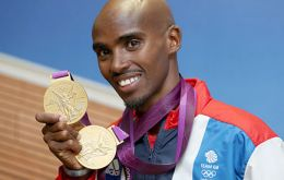 Olympic gold Mo Farah one of the favourites to cross the winning line at the Mall