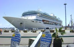 "'Splendour of the Seas"" was the last call of the season"