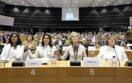 """Freedom for the people of Cuba!"" said the Ladies in White at the European Parliament"