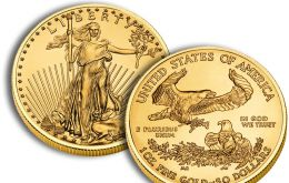 The one ounce size coins have been ordered in the greatest quantity with 155,500 coins sold
