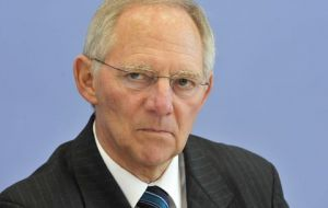"""You have to react to economic developments -- we do so in Germany"" said Schaeuble"