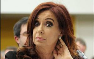 There seems to be no limit to the Argentine president authoritarianism and disdain for the rule of the law