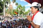 Morales usually makes big announcements on May first Labour Day