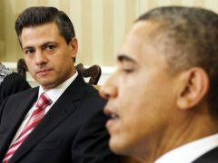 In an unusual gesture to a foreign leader Obama received Peña Nieto in the Oval Office before he was even inaugurated