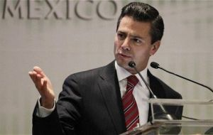 "Peña Nieto has managed to negotiate with the three main parties the 'Pact for Mexico"" with promised of much delayed reforms"
