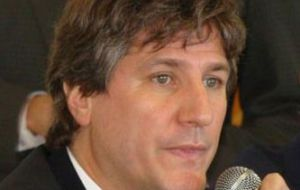 "Vice-president Amado Boudou: ""speculative activities from 100 or 200.000 people"""